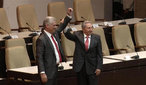 Mario Diaz-Canel Bermudez takes over as Cuba's new president