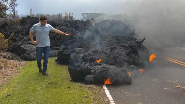 夏威夷火山 - 卡特 - 埃文斯与 - 熔岩流620.jpg