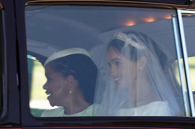 Prince Harry, Queen Elizabeth's grandson, marries U.S. actress Meghan Markle in Windsor