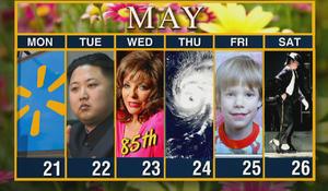 Week of May 21