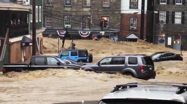 马里兰州的洪水泛滥