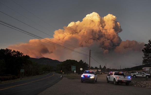 新墨西哥州野火