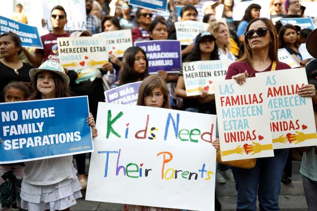 抗议 - 特朗普 - 移民