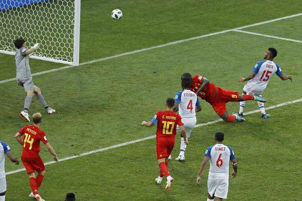 俄罗斯足球WCup比利时巴拿马
