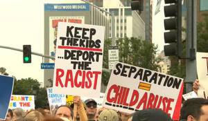Protesters demand immigrant families be reunited