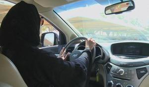 In Saudi Arabia women drivers hit the road