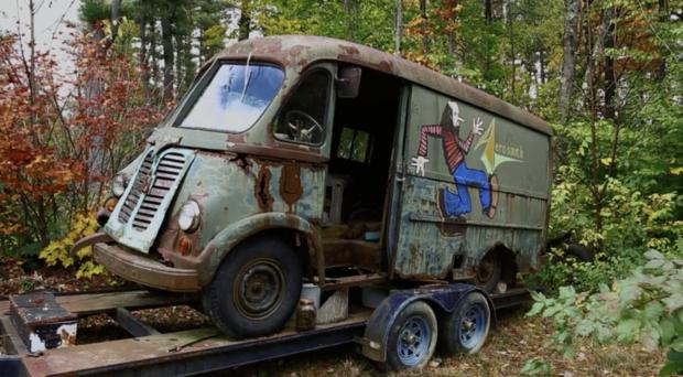 Aerosmith的原始旅游车