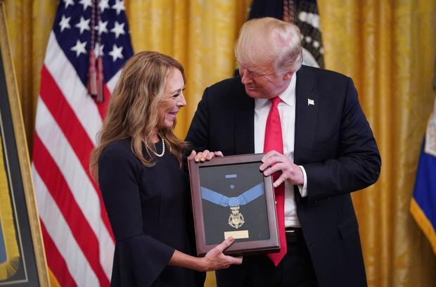美国的政治王牌,奖章