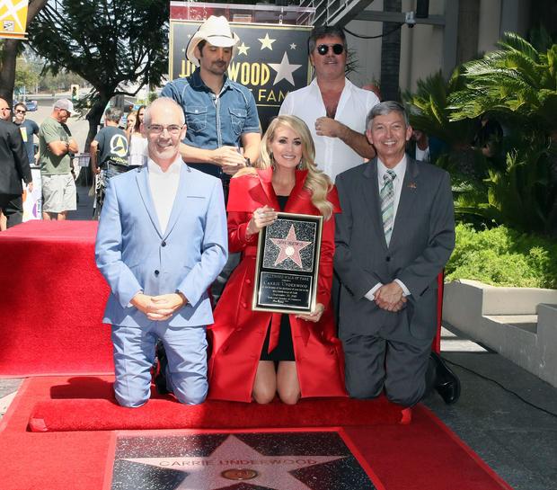 凯莉安德伍德好莱坞星光大道