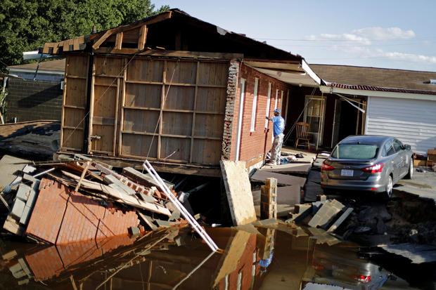 北卡罗来纳州的飓风佛罗伦萨