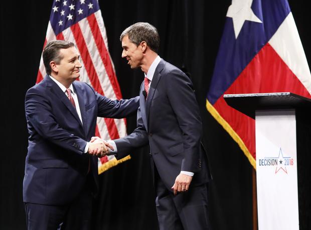 Ted Cruz,Beto O'Rourke