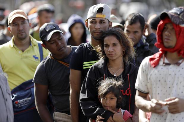 中美洲移民大篷车