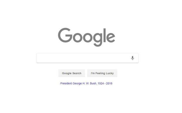 谷歌,哀悼-GHW-bush.jpg