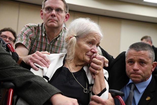 谢丽尔·威廉姆斯在判决后作出反应