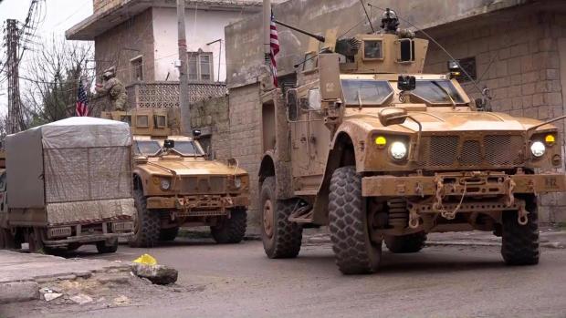 叙利亚 - 美国 - 土耳其 - 库尔德人冲突