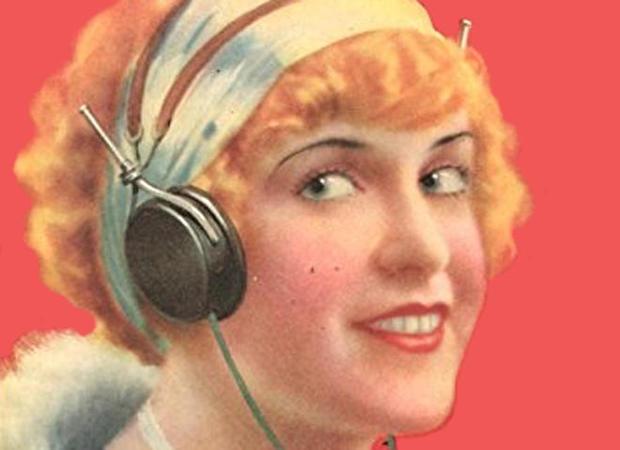 女人与 - 耳机无线电小说选刊杂志三月-1925.jpg