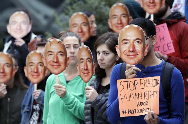 亚马逊抗议