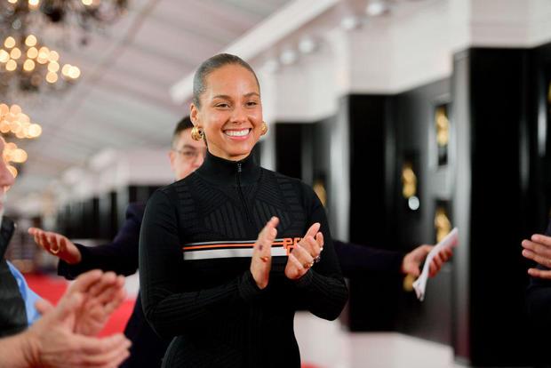 第61届年度格莱美奖红地毯推出和预览日
