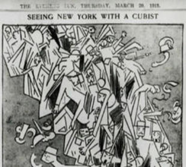 军械库秀 - 马塞尔 - 杜尚-1912-画裸体递降一梯-244.jpg