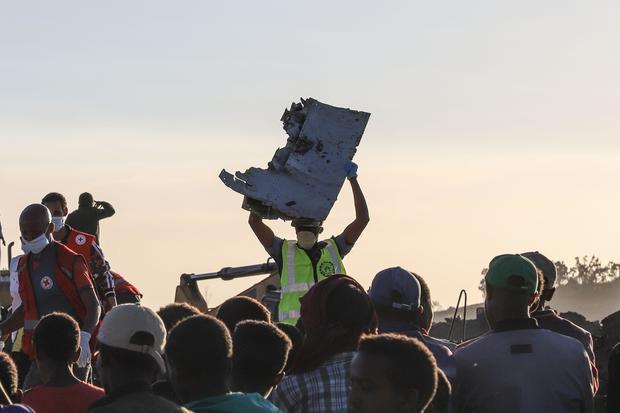 埃塞俄比亚航空公司坠毁