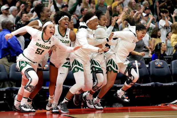 Baylor Lady Bears  -  NCAA女子四强 - 全国冠军