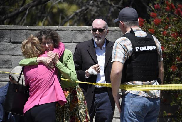 犹太教堂射击 - 加利福尼亚