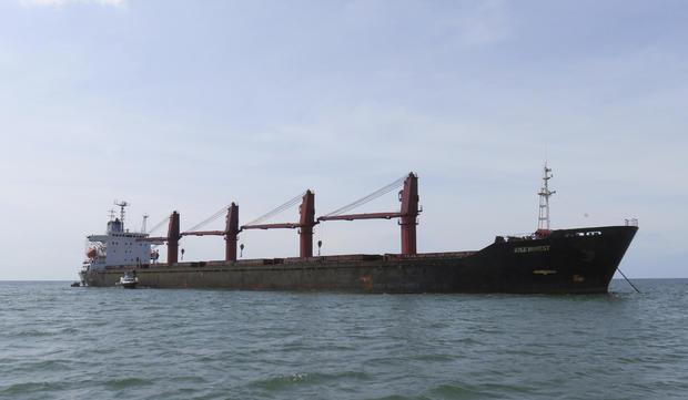 美国朝鲜煤炭船