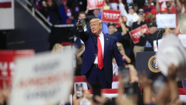 Donald Trump rally — North Carolina