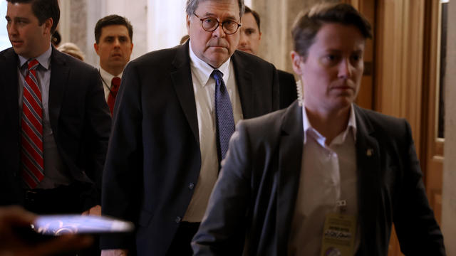 Attorney General William Barr Joins Senate Republicans' Policy Luncheon