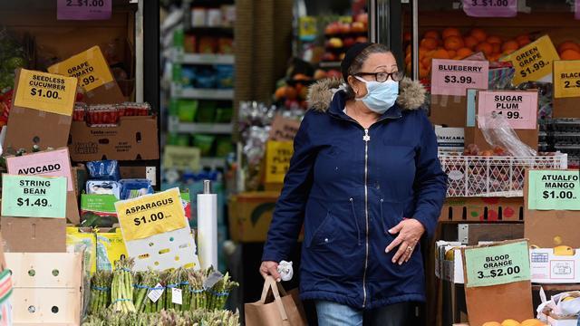 Grocery shopping during coronavirus