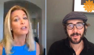 Watch Josh Groban & Tracy Smith's Facebook Live Chat!