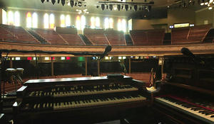 """Nashville's Ryman Auditorium, the """"Mother Church of Country Music"""""""