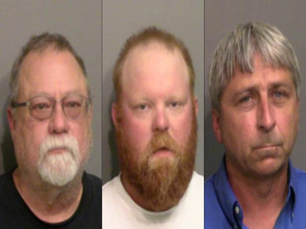 McMichaels and Bryan arrest photos