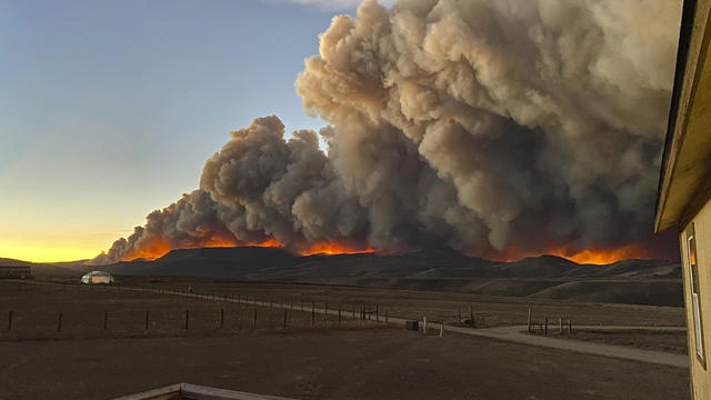 East Troublesome Fire in Colorado