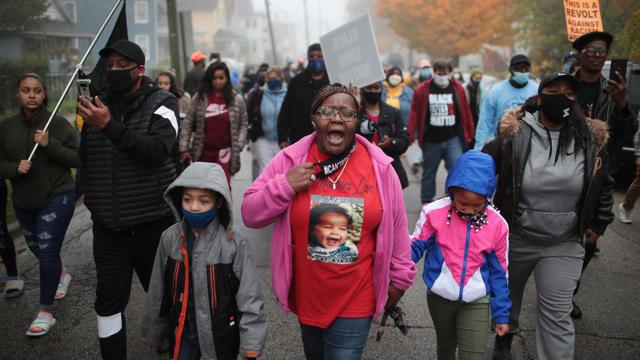 Waukegan Illinois Protests Marcellis Stinnette