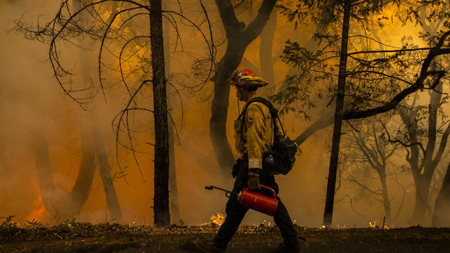 More California Fires Erupt As Dry Winds Make State A Tinderbox