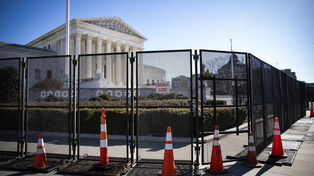 Protective Fencing Erected Around Buildings In Wake Of Capitol Hill Rioting