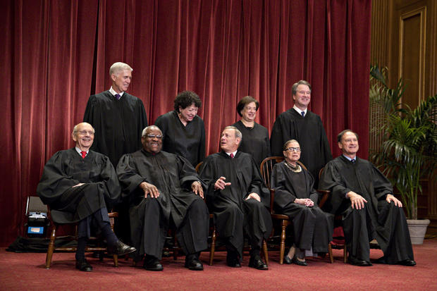 Group Photo Of The U.S. Supreme Court Justices