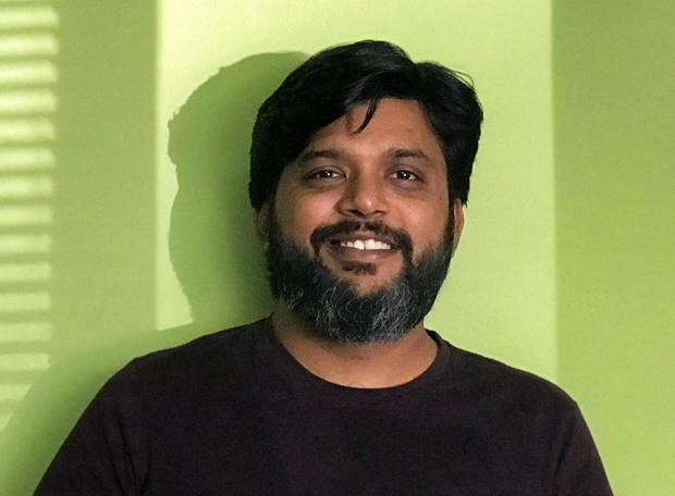 Reuters journalist Danish Siddiqui, poses for a photo in Kabul