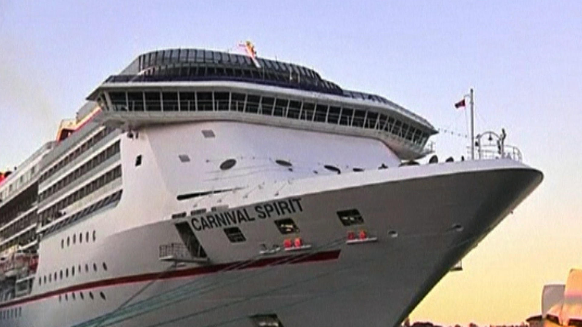 Couple Missing From Carnival Cruise Ship After Falling Overboard - How long is the carnival cruise ship