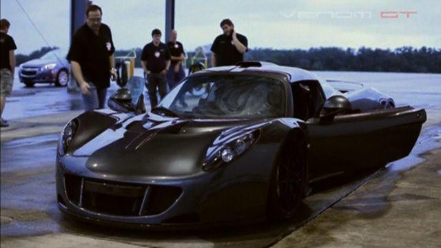 Hennessey Venom GT The Fastest Sports Car In The World CBS News - Fastest sports car