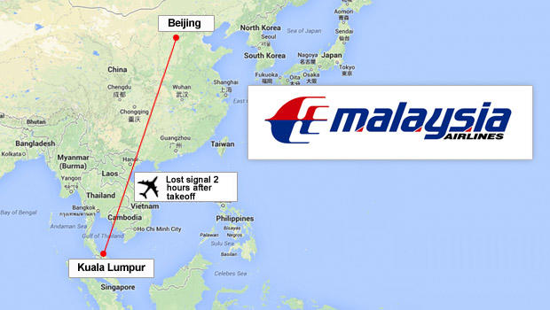 Malaysia Airlines loses contact with plane en route to ...