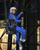 Alyssa Carson at NASA Space Camp