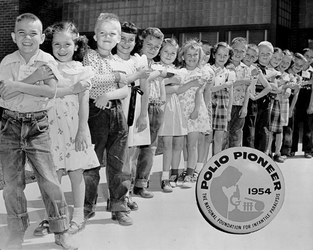 Resultado de imagen de polio vaccine test