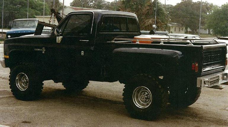 Chip Flynn's truck