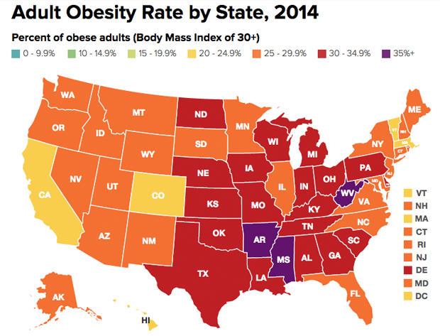 Obesity Rates & Trend Data
