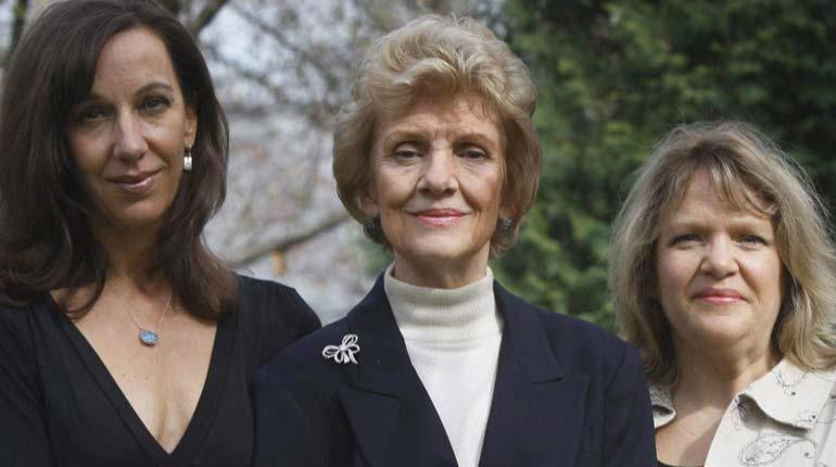 Jeanne Bishop, Joyce Bishop and Jennifer Bishop-Jenkins