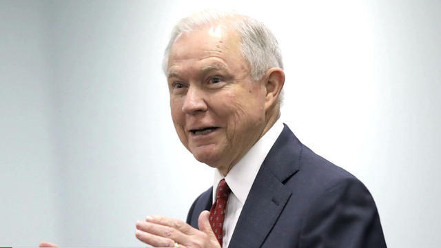 is attorney general jeff sessions job in jeo