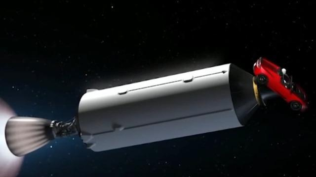 spacex - How did the Roadster get high enough to take a ...