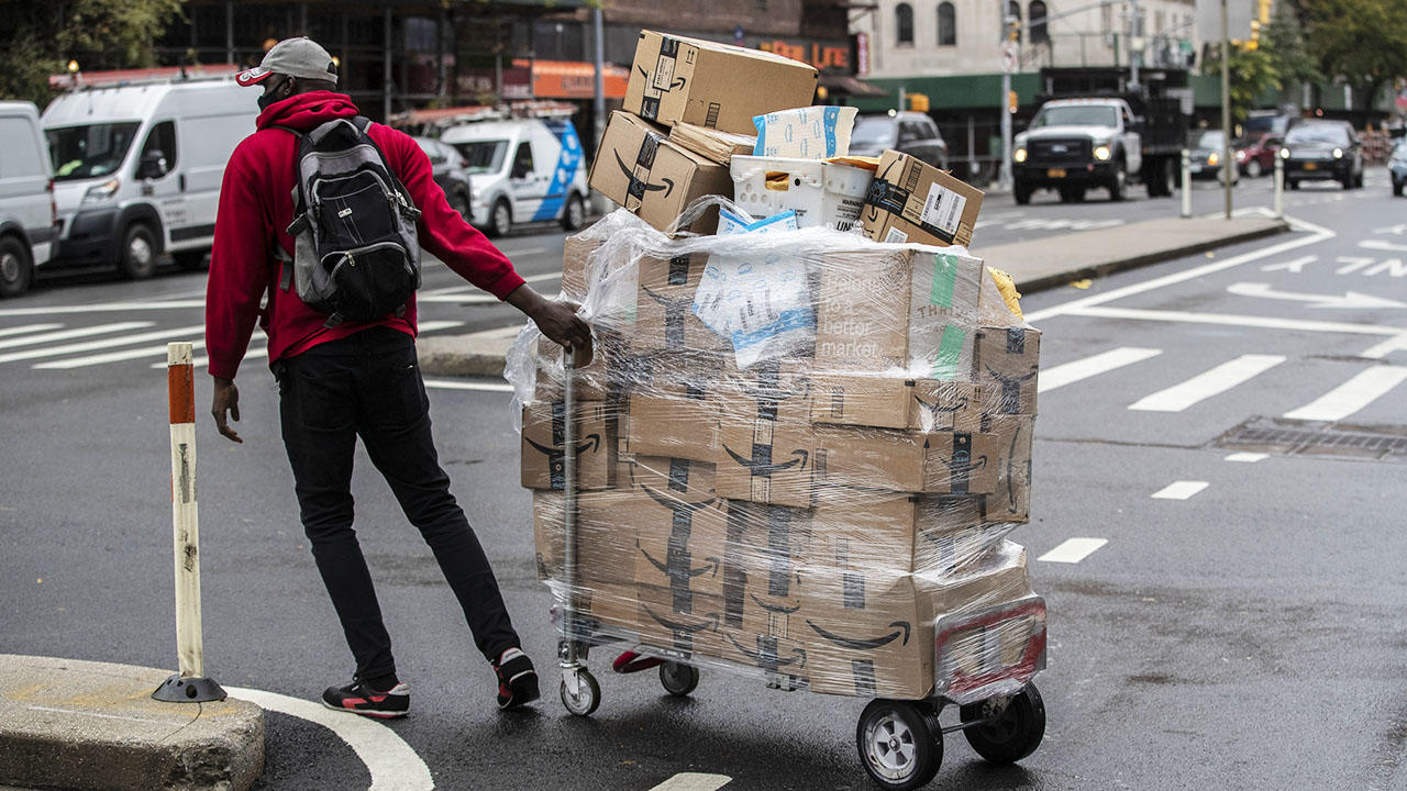 Amazon Package Deliveries On Prime Day